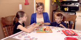 Connecting Parents Screencap - Family playing board game